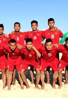 ĐT bóng đá bãi biển Việt Nam vào chung kết giải bóng đá bãi biển VĐ Đông Nam Á