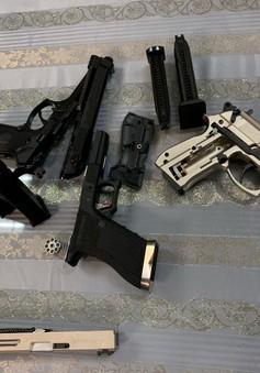 Bắt giữ hành khách mang 3 khẩu súng ngắn từ Pháp về Việt Nam