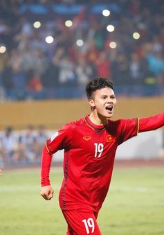 AFF Cup 2018: Thắng thuyết phục ĐT Campuchia, Quang Hải được bầu là cầu thủ xuất sắc nhất trận