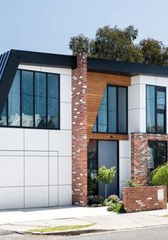 Ngôi nhà mái lệch giúp giải nhiệt và chống thấm hiệu quả