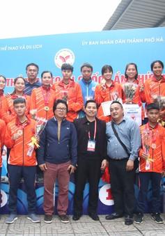 Kết thúc môn Bi sắt Đại hội TTTQ 2018: Hà Nội tuột HCV trong 2 trận chung kết