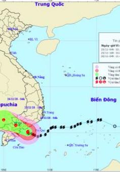 Ban Chỉ đạo Trung ương về Phòng chống thiên tai kiểm tra tình hình bão lụt ở Bình Thuận