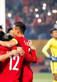 ẢNH: Toàn cảnh ĐT Việt Nam giành chiến thắng 3-0 trước ĐT Campuchia trên sân Hàng Đẫy