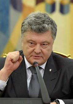 Tổng thống Ukraine đề xuất ban bố tình trạng chiến tranh