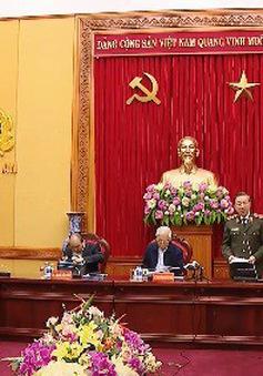 Tổng Bí thư, Thủ tướng dự Hội nghị Thường vụ Đảng ủy Công an Trung ương