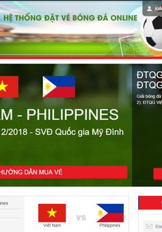 VFF khẳng định vé bán online trận ĐT Việt Nam - ĐT Philippines vẫn còn