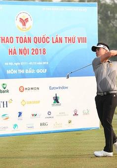 Môn Golf Đại hội TTTQ 2018: Hà Nội giành cả 2 HCV ở nội dung cá nhân