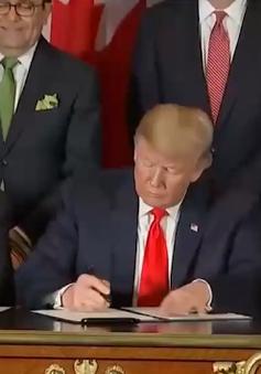 Mỹ - Mexico - Canada ký Hiệp định thương mại tự do mới
