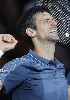 Vượt qua Federer, Djokovic giành quyền vào chung kết Paris Masters 2018