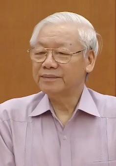 """Tổng Bí thư, Chủ tịch nước Nguyễn Phú Trọng: """"Dứt khoát không đưa vào quy hoạch những người có biểu hiện suy thoái"""""""
