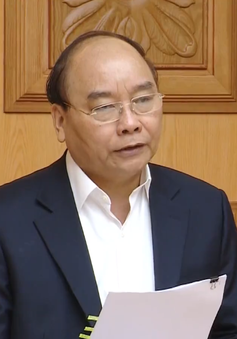Thủ tướng Nguyễn Xuân Phúc chủ trì phiên họp đầu tiên Tiểu ban Kinh tế - Xã hội
