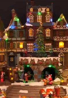 Đến thăm khu chợ Giáng sinh lớn nhất ở thủ đô Berlin, Đức