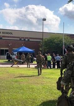 Số vụ xả súng học đường tại Mỹ tăng mạnh trong năm 2018