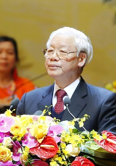 Tổng Bí thư, Chủ tịch nước dự khai mạc Đại hội Hội Nông dân Việt Nam