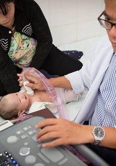 Khám tầm soát tim mạch miễn phí cho trẻ nhỏ tại tỉnh Lâm Đồng