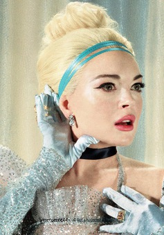 Khi cô nàng vật chất Lindsay Lohan biến thành công chúa