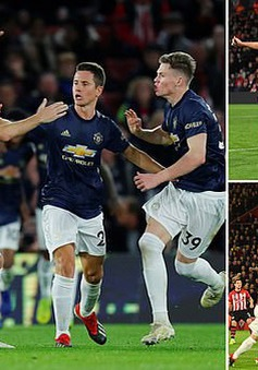 Lukaku ghi bàn trở lại, Man Utd vẫn mất điểm trên sân của Southampton