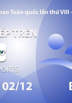 Môn bơi Đại hội Thể thao toàn quốc 2018: VTV Sports trực tiếp các nội dung chung kết (18h00 ngày 2/12)