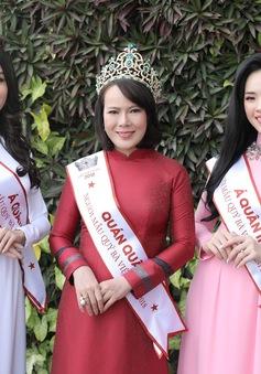 BTC Mrs Việt Nam công bố bản quyền dự thi Quốc tế