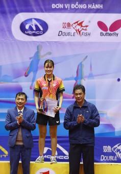 Giải bóng bàn các cây vợt xuất sắc toàn quốc năm 2018: Nguyễn Đức Tuân vô địch đơn nam, Nguyễn Thị Nga vô địch đơn nữ