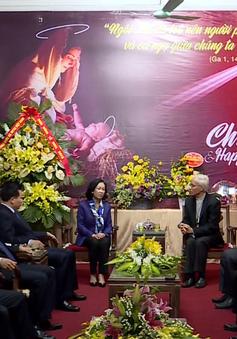 Trưởng Ban Dân vận Trung ương thăm, chúc mừng Giáng sinh tại Tòa Giám mục Bắc Ninh