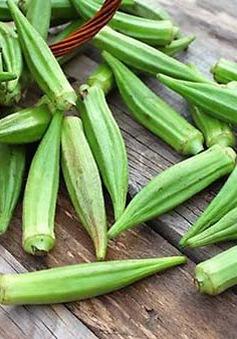 Lợi ích của đậu bắp đối  với sức khỏe