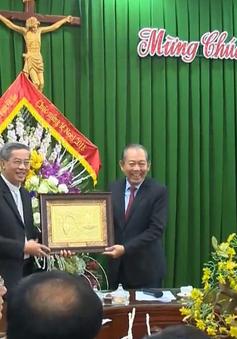 Phó Thủ tướng Trương Hòa Bình chúc mừng Giáng sinh tại Tòa Giám mục Phát Diệm