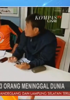 Sóng thần ở Indonesia: Cảnh báo người dân trước thảm họa sóng thần
