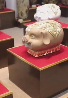 Vật phẩm mang hình tượng con lợn được nhiều người lựa chọn