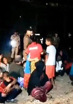 Thái Lan bắt giữ hơn 100 người nhập cư trái phép