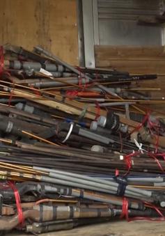 Tiêu hủy hàng nghìn vũ khí, vật liệu nổ