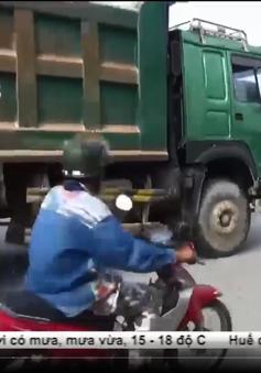 Siết chặt hoạt động xe ben quá tải