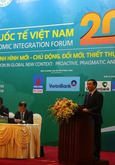 Việt Nam đã có một năm sôi động với các hoạt động hội nhập kinh tế quốc tế