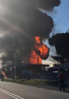Nổ trạm xăng ở Italy, ít nhất 19 người thương vong