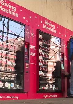 Máy bán hàng tự động vì mục đích từ thiện