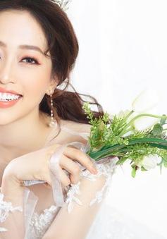 Á hậu Phương Nga hóa cô dâu xinh đẹp, lộng lẫy