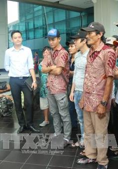 Indonesia trao trả nhiều ngư dân Việt Nam trước Tết Nguyên đán