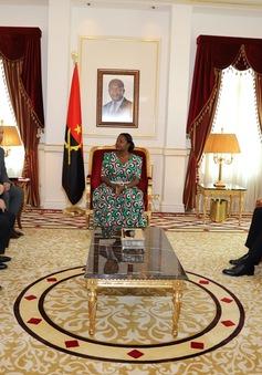 Việt Nam và Angola tăng cường quan hệ đoàn kết