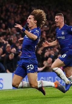 VIDEO Chelsea 2-0 Man City: Kante, Luiz hóa người hùng