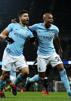 VIDEO Man City 3-1 Newcastle: Aguero lập hattrick hoàn hảo