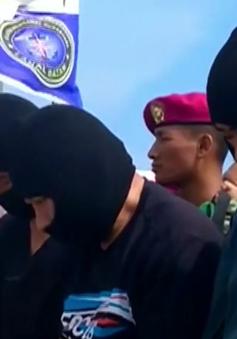 Indonesia thu giữ hơn 1 tấn ma túy đá trên biển