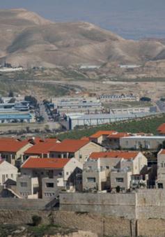 Mỹ không thảo luận về kế hoạch sáp nhập các khu định cư ở Bờ Tây