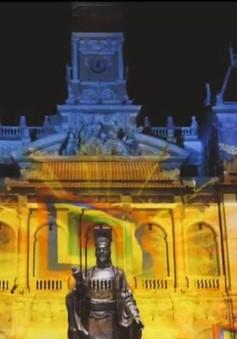 TP.HCM: Trình diễn 3D Mapping tại đường hoa Nguyễn Huệ