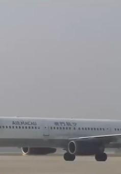 """Đà Nẵng đón chuyến bay quốc tế """"xông đất"""" năm mới Mậu Tuất 2018"""