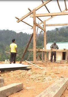Ngày cuối năm ở làng tái định cư Khe Chữ, Quảng Nam