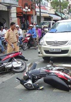 24 người chết vì tai nạn giao thông ngày mùng 4 Tết