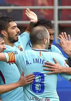 Thắng nhẹ nhàng Elbar, Barcelona vẫn chịu thiệt ở Champions League
