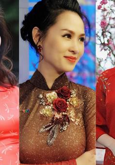 Tết đến, loạt MC, BTV xinh đẹp đều diện chung trang phục này!