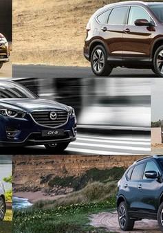 """10 mẫu xe bán chạy nhất tháng 1/2018: Cũng chỉ vì… """"Tết"""""""