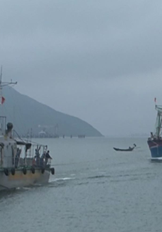 Hà Tĩnh cứu hộ thành công 11 ngư dân gặp nạn trên biển